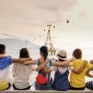convivere in vacanza con amici