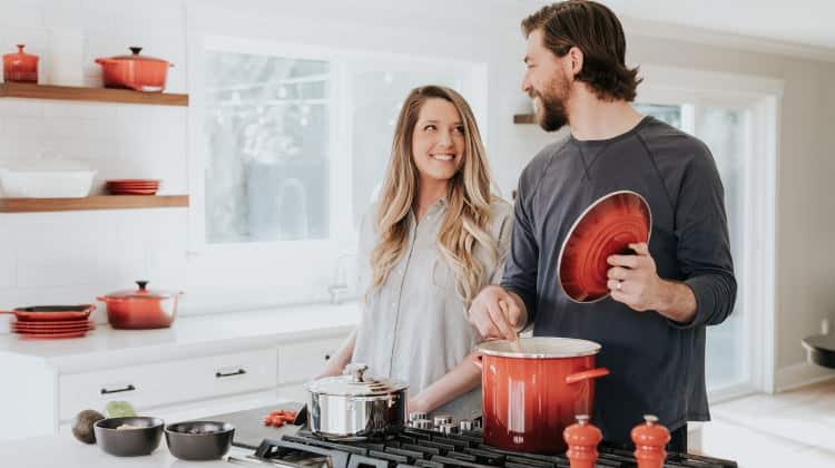 cucinare insieme per riaccendere la passione