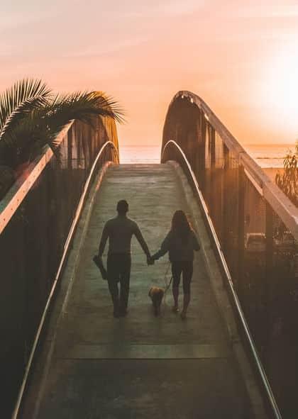 Il cane migliora il rapporto di coppia