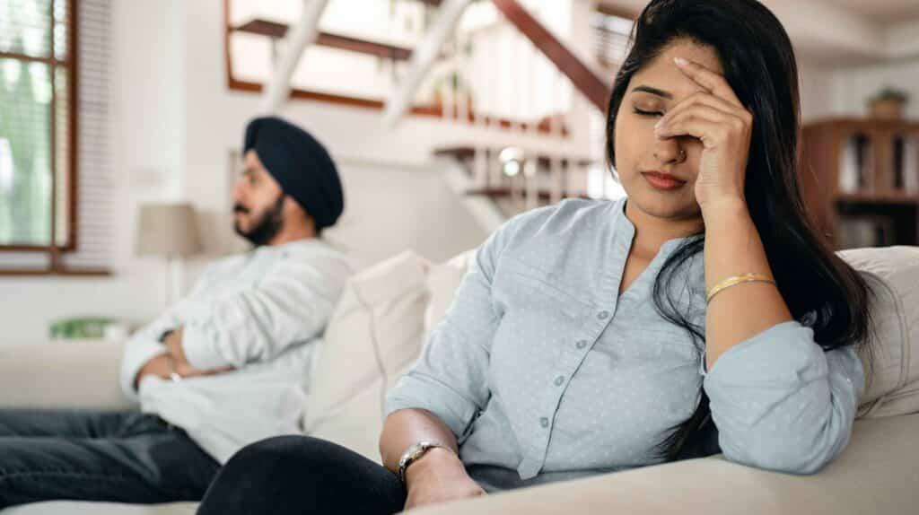 vita di coppia: lasciarsi in gravidanza